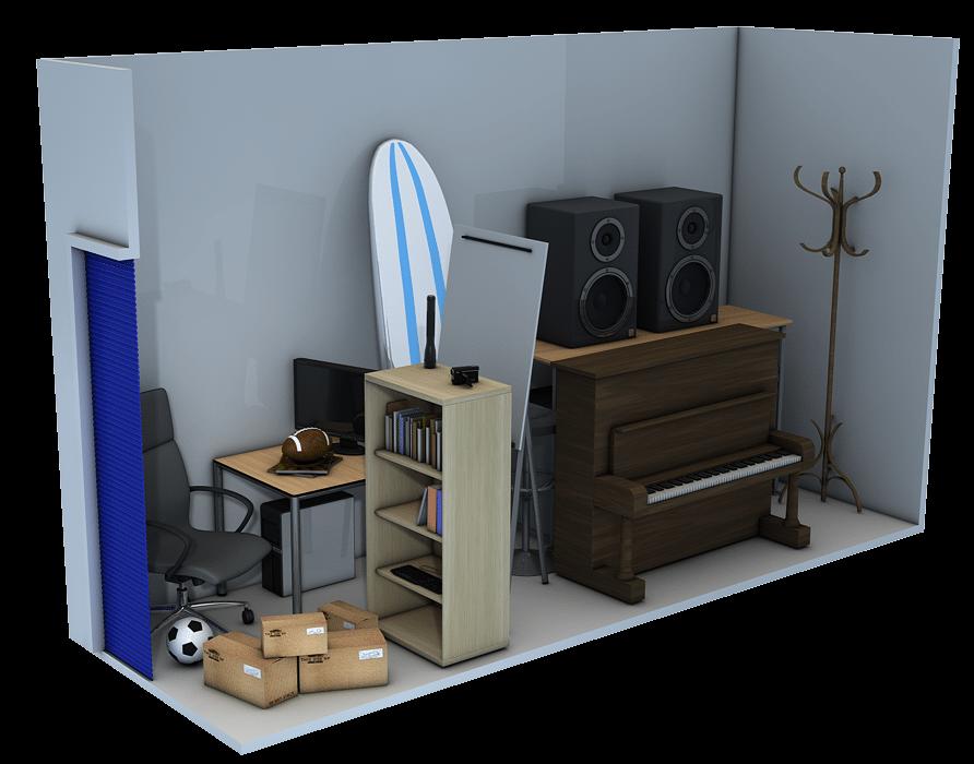 Storage unit 5x15