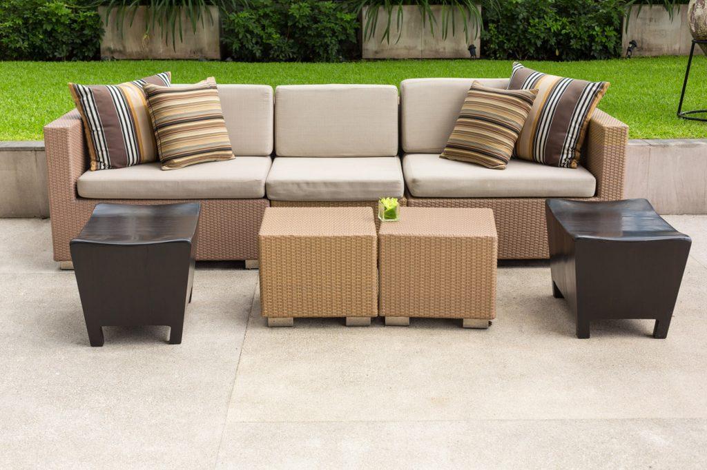 Prepare outdoor furniture