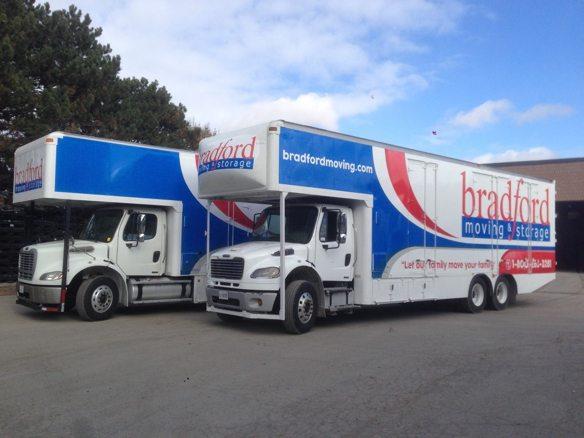 bradford delivery trucks